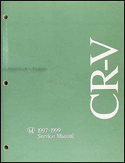 1997-1999 Honda CR-V Repair Manual Original