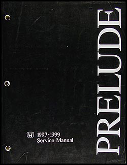 1997-1999 Honda Prelude Repair Manual Original