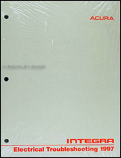 1997 Acura Integra Electrical Troubleshooting Manual Original