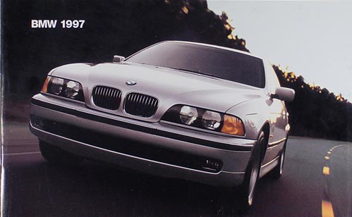 1997 BMW Sales Brochure Original--All Models