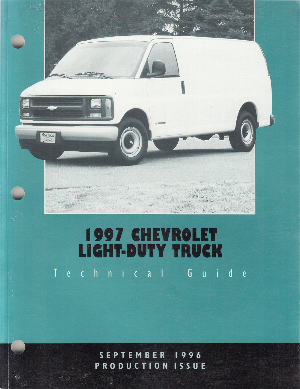 1997 Chevrolet Truck Technical Guide Dealer Album Original Production Issue