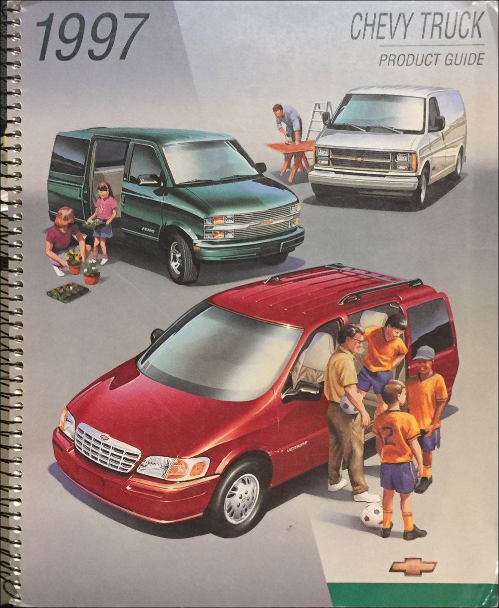 1997 Chevrolet Dealer Album Data Book Original