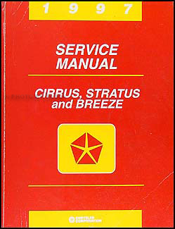 1997 Cirrus, Stratus, & Breeze Shop Manual Original