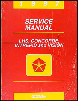 1997 Vision, Concorde, LHS, & Intrepid Shop Manual Original