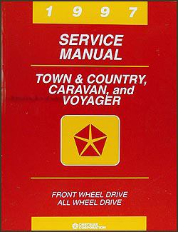 1997 Caravan, Town & Country, & Voyager Van Repair Manual Original