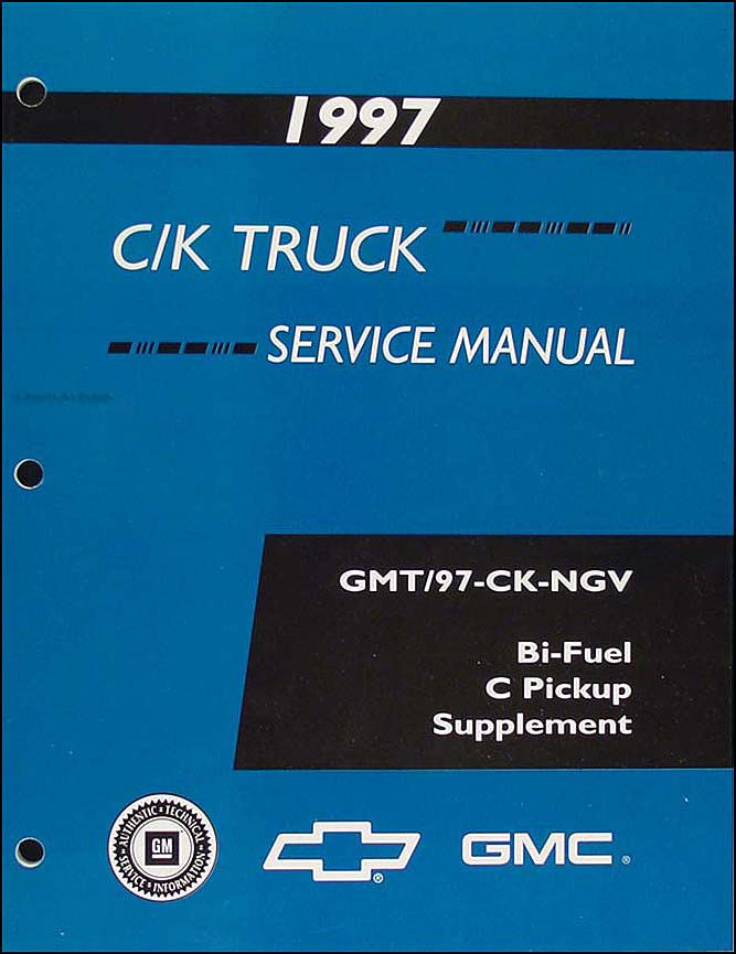 1997 C1500-C3500 Bi-Fuel Shop Manual Original Supplement
