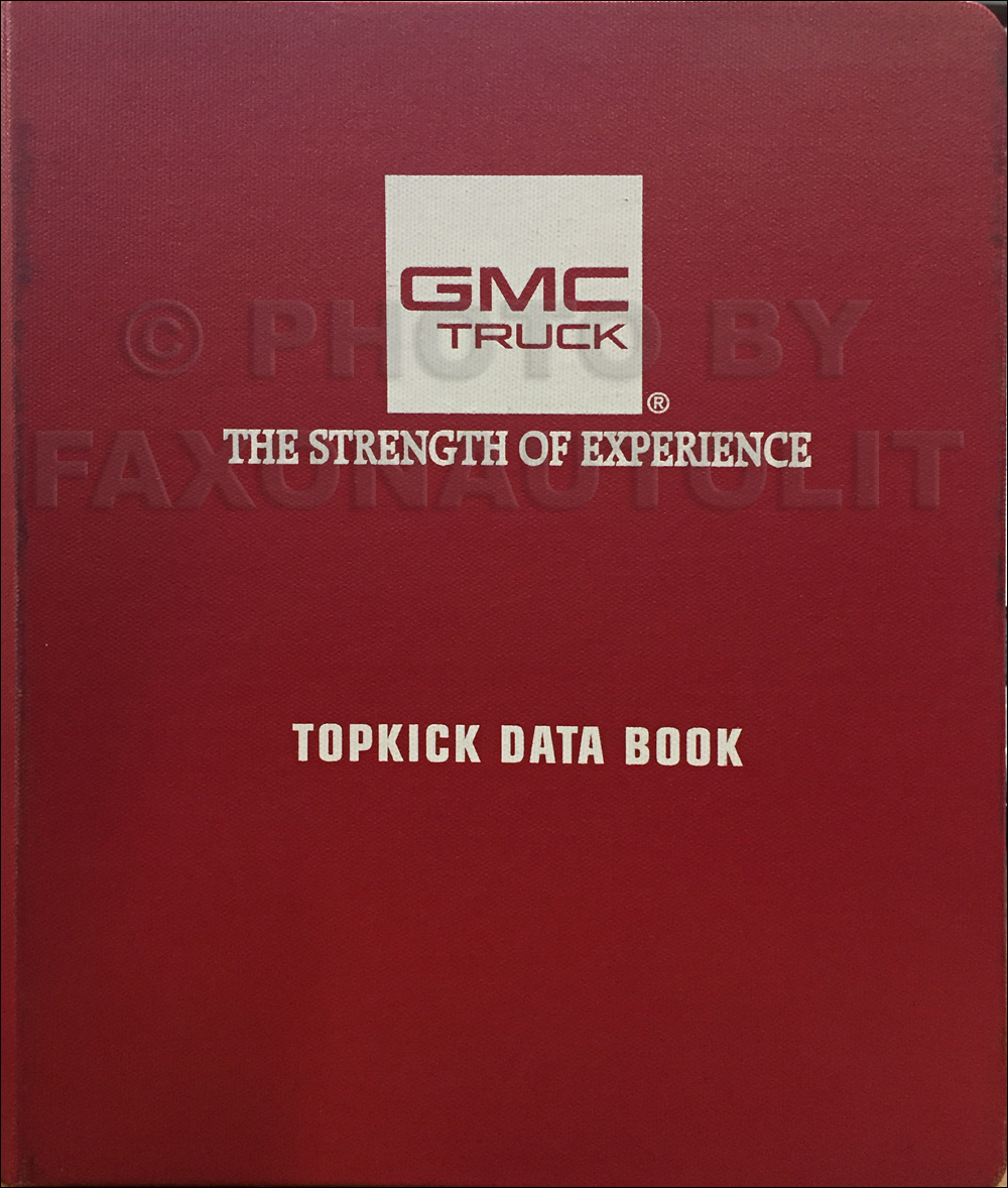 1997 GMC Medium Duty Data Book Original Topkcick/Kodiak, T-Series, B7