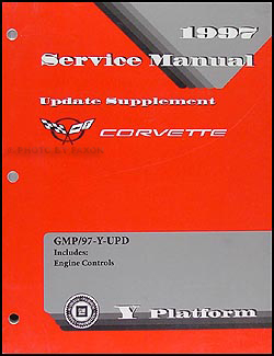 1997 Chevrolet Corvette Engine Controls Update Repair Shop Manual Supp.