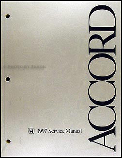 1997 Honda Accord Repair Manual Original