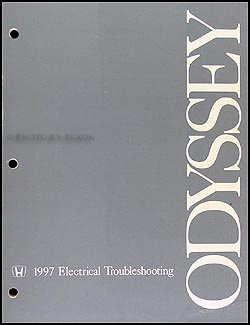 1997 Honda Odyssey Electrical Troubleshooting Manual Original