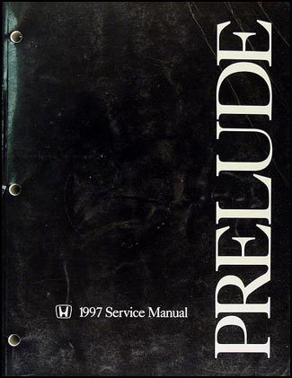 1997 Honda Prelude Repair Manual Original