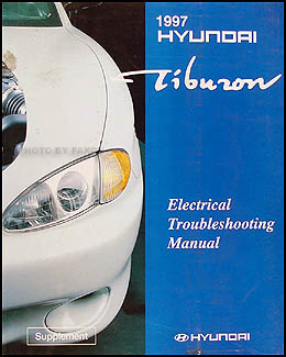 1997 Hyundai Tiburon Electrical Troubleshooting Manual Original