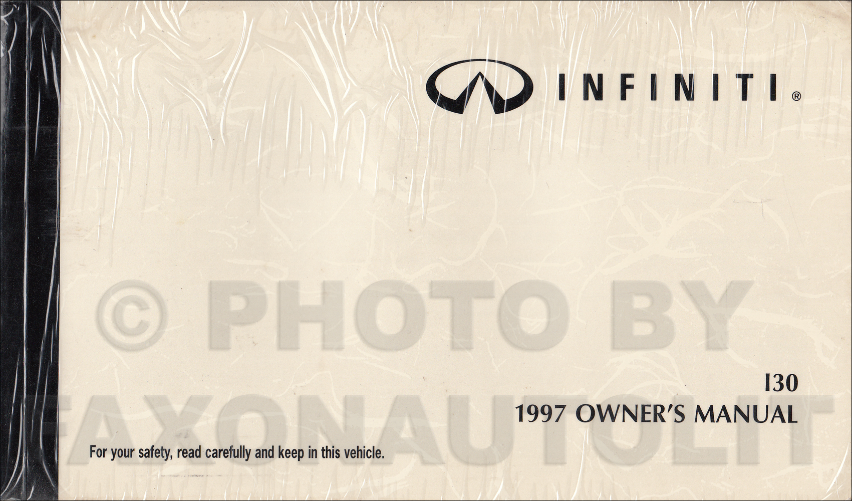 1997 Infiniti I30 Owner's Manual Original