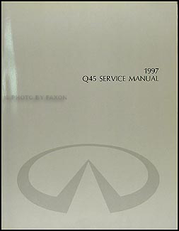 1997 Infiniti Q45 Repair Manual Original