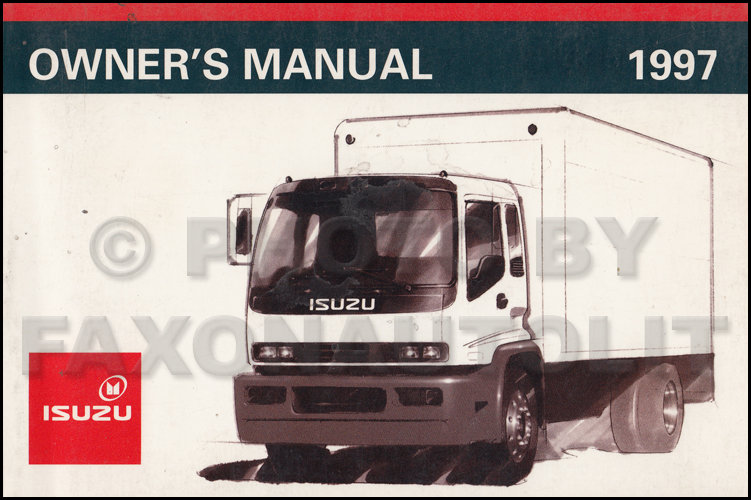 1997 Fsr  Ftr  Fvr  W6  W7 Truck Repair Shop Manual Original 2 Volume Set