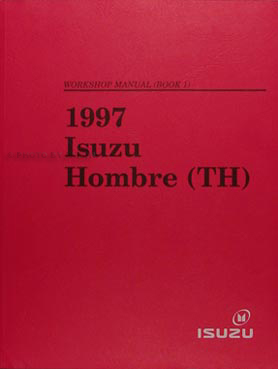 1997 Isuzu Hombre/Chevy S-10/GMC Sonoma Shop Manual Set Original