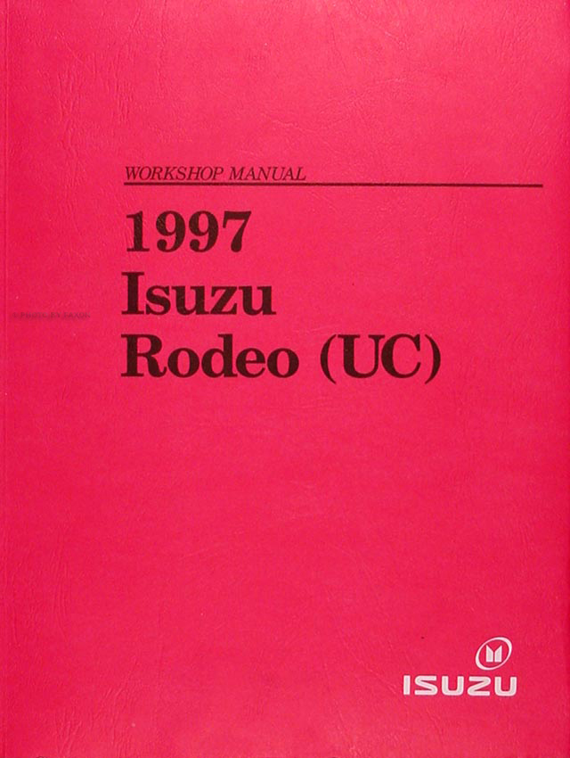 1997 Isuzu Rodeo & Honda Passport Repair Manual Original
