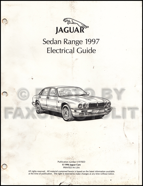 xj6 wiring diagram air locitrial nl \u20221997 jaguar xj6 electrical guide wiring diagram original rh faxonautoliterature com 1986 jaguar xj6 wiring diagram