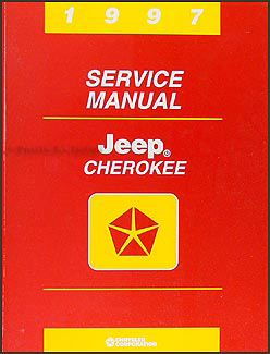 1997 Jeep Cherokee Shop Manual Original