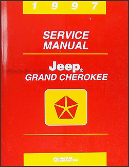 1997 Jeep Grand Cherokee Repair Manual Original