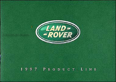 1997 Land Rover Original Sales Catalog Range/Discovery/Defender