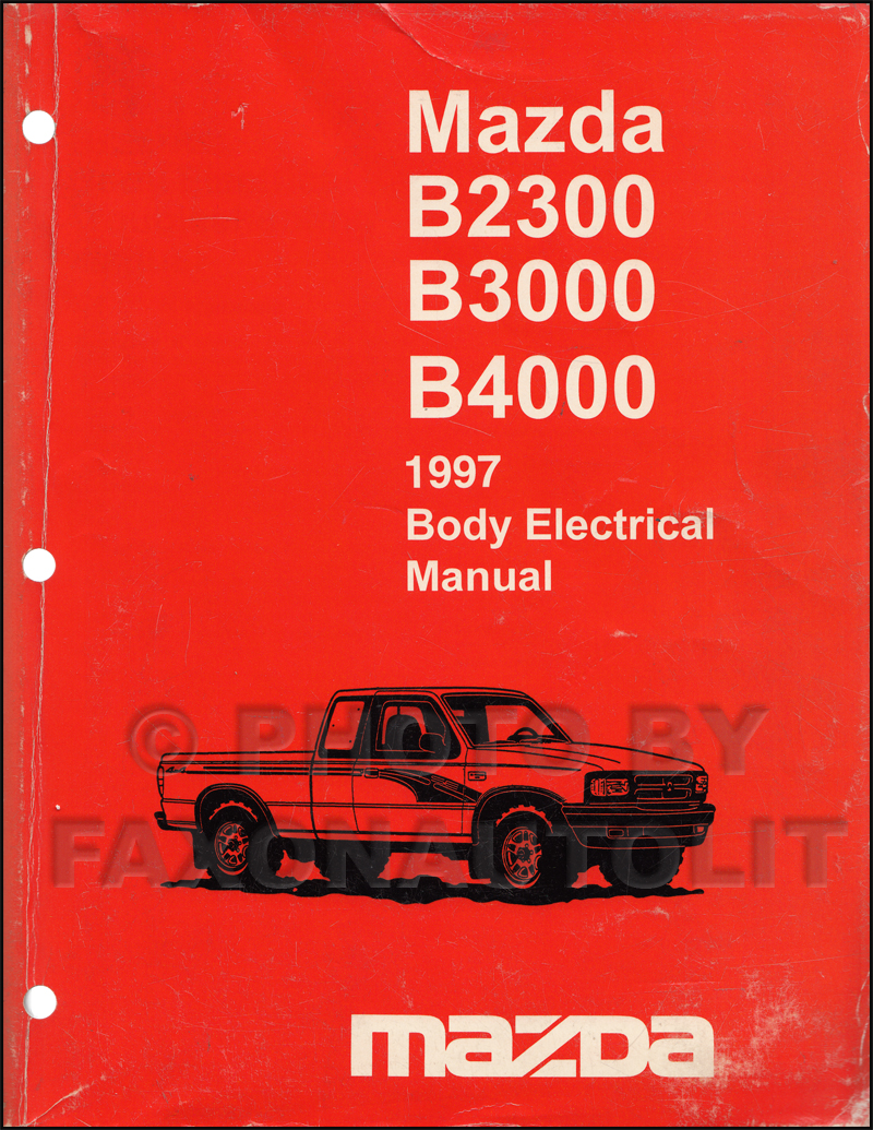 1996 Mazda B2300 Owners Manual B2500 Fuse Box Search Rh Faxonautoliterature Com 4 Cyl
