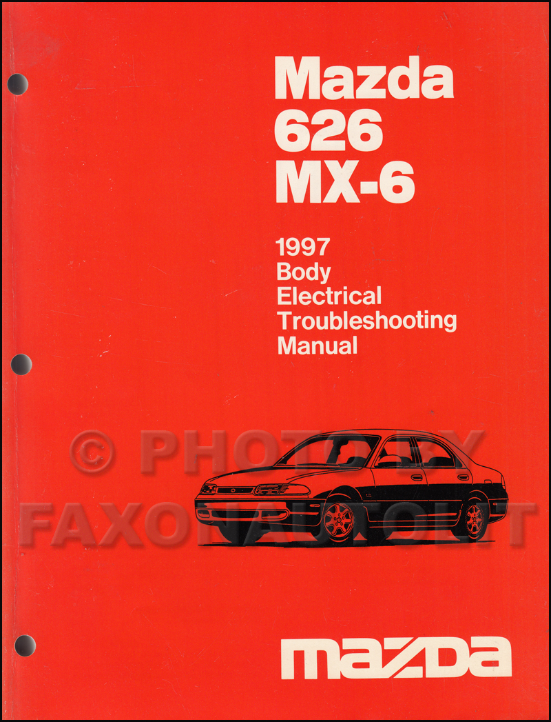 search rh faxonautoliterature com 1999 Mazda 626 Repair Manual 1999 Mazda  626 Repair Manual