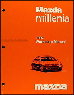 1997 Mazda Millenia Repair Manual Original