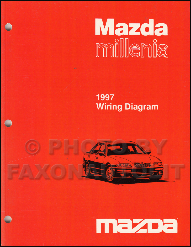 1997 mazda millenia repair shop manual original  1997 mazda millenia wiring diagram manual original