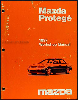 1997 mazda protege repair shop manual original rh faxonautoliterature com 2000 Mazda Protege DX mazda 323 protege 2000 service manual