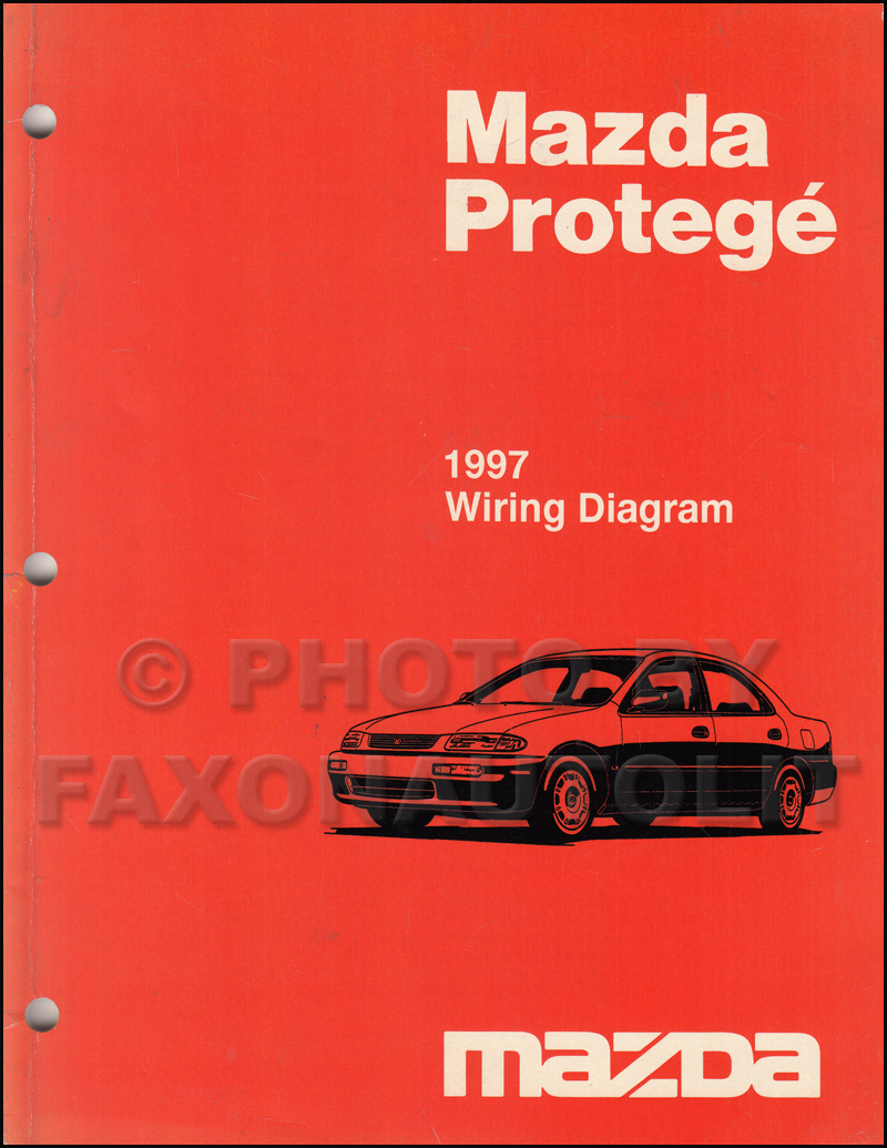 1997 Mazda Protege Wiring Diagram Manual Original