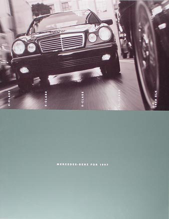 1997 Mercedes-Benz Sales Literature Original--All Models