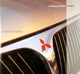 1997 Mitsubishi Original Sales Brochure 3000GT, Eclipse, Montero Etc