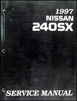 1997 Nissan 240SX Repair Manual Original