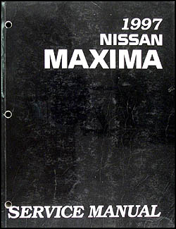 1997 Nissan Maxima Repair Manual Original