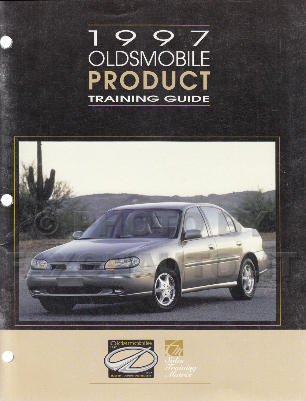 1997 Oldsmobile Sales Training Guide Original