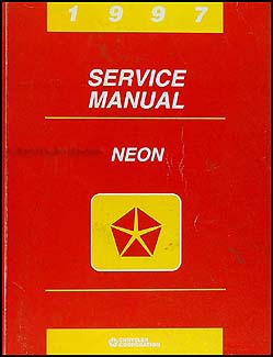 1997 Neon Shop Manual Original