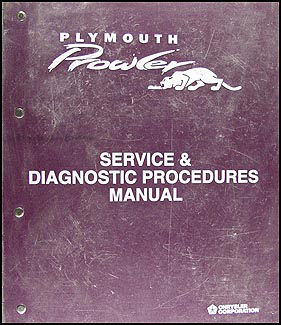 1997 Plymouth Prowler Shop Manual Original