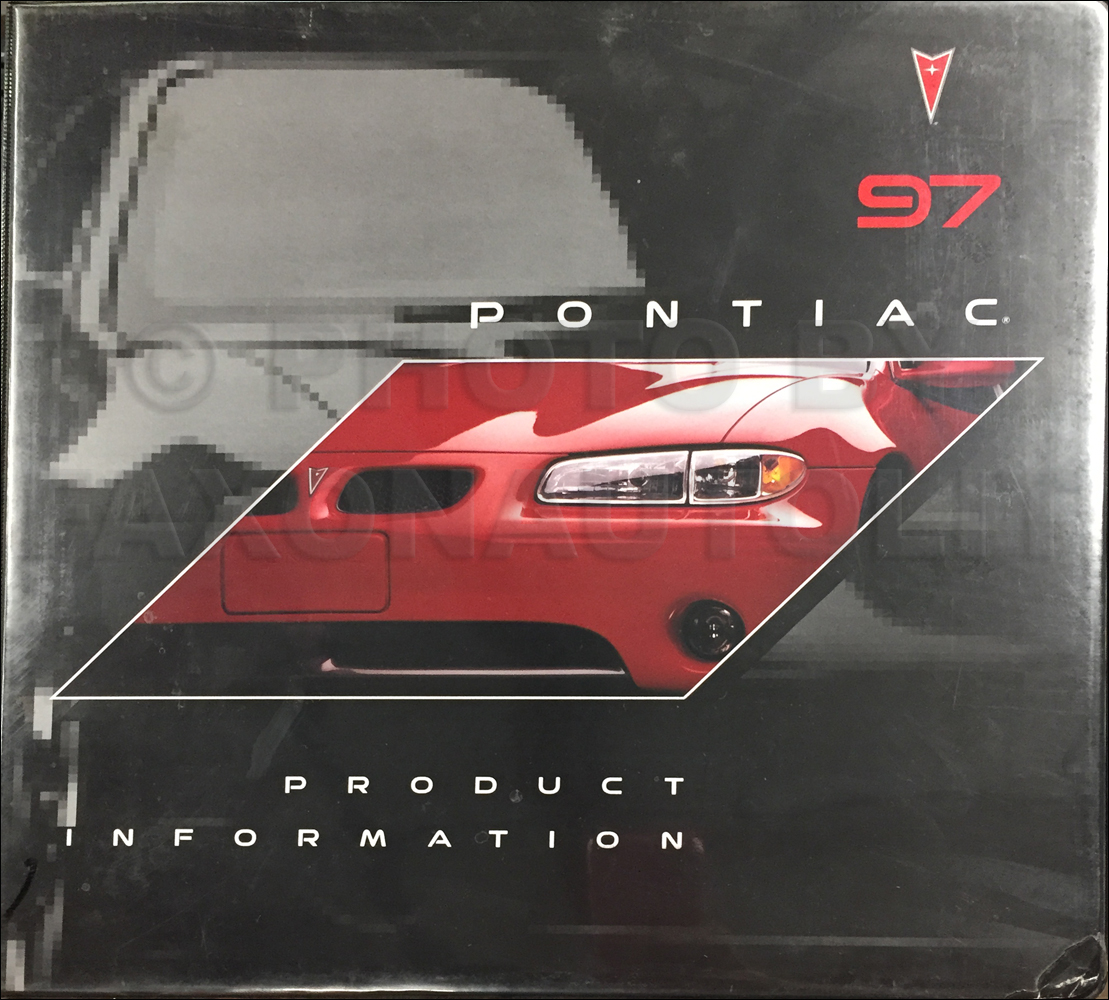 1997 Pontiac Data Book and Color and Upholstery Dealer Album