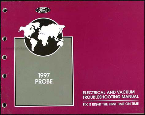1997 Ford Probe Original Electrical and Vacuum Troubleshooting Manual