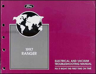 1997 Ford Ranger Electrical Troubleshooting Manual Original