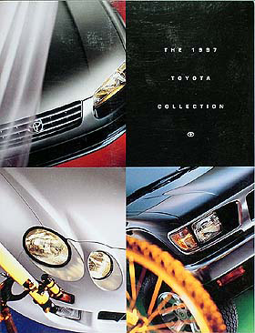 1997 Toyota Original Sales Catalog--All Models