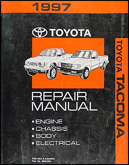 1997 Toyota Tacoma Repair Manual Original