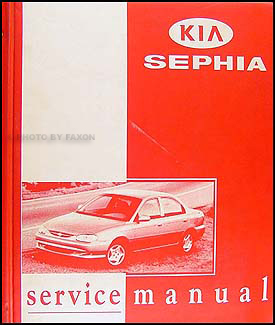 1998-2000 Kia Sephia Repair Manual Original