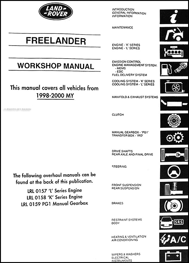 LAND ROVER FREELANDER MANUAL PDF » Pauls PDF