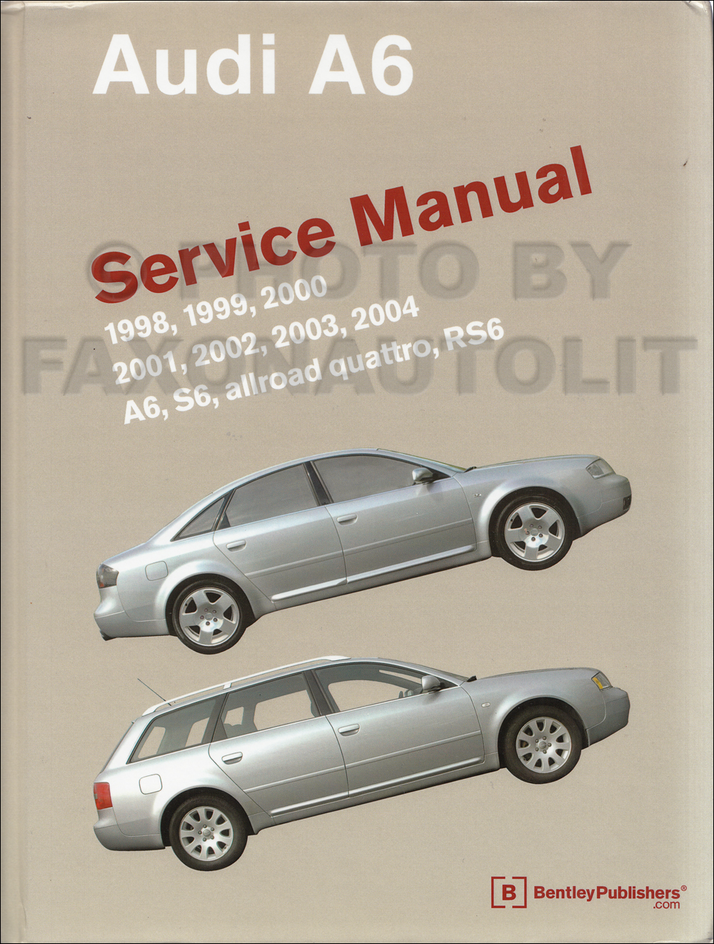 1984-1986 Audi 5000 Bentley Repair Manual Original