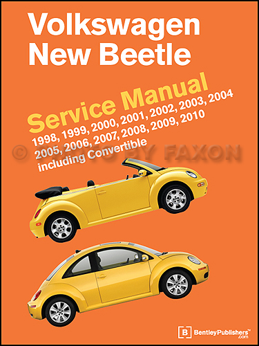 1998-2010 Volkswagen New Beetle Repair Manual
