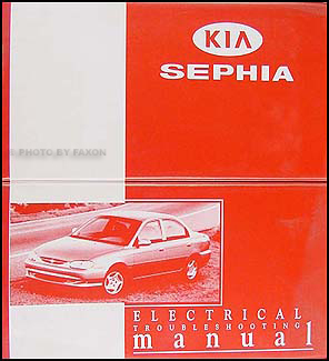 1998-1999 Kia Sephia Electrical Troubleshooting Manual Original | 99 Kia Sephia Engine Wiring Diagram |  | Faxon Auto Literature