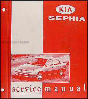 1998-1999 Kia Sephia Repair Manual Original