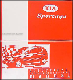 1998-1999 Kia Sportage Electrical Troubleshooting Manual Original